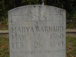 Mary Amanda <i>Brannan</i> Barnard