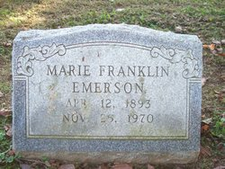 Marie <i>Franklin</i> Emerson