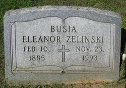 Eleanor <i>Zelinski</i> Busia