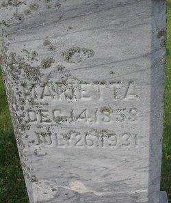 Mary Etta Marietta <i>Dixon</i> Moody