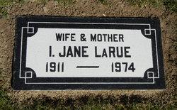 Iva Jane <i>Sharp</i> LaRue