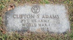 Clifton Samuel Adams