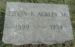 Edwin F. Ackley, Sr