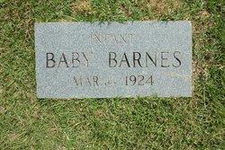 Infant Barnes