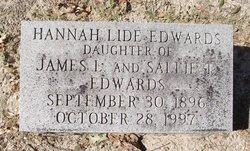 Hannah Lide Edwards