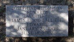 Josephine Thompson Edwards
