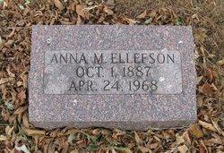 Anna M Ellefson