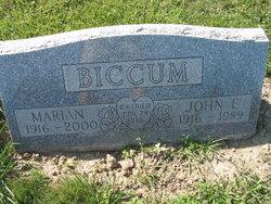 Marian L. <i>Ried</i> Biccum