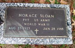 Pvt Horace Sloan