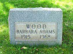 Barbara Adams Wood