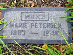Marie <i>Jacobsen</i> Petersen