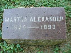 Martha <i>Knapp</i> Alexander