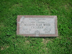 Mildred Elsie <i>Wood</i> Calahan