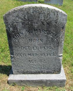 Adin K. Marshall