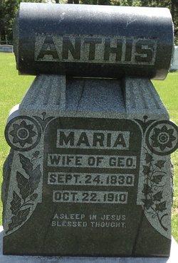 Maria Ann <i>Ellis</i> Anthis