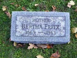 Bertha <i>Gedney</i> Fritz