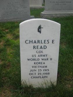 Charles E Read