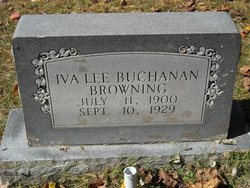 Iva Lee <i>Buchanan</i> Browning