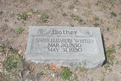 Sarah Elizabeth <i>Walker</i> Whitley