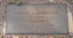 Henry A Andresen