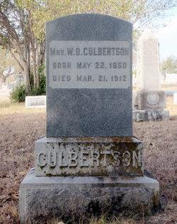 Margret M <i>Henry</i> Culbertson