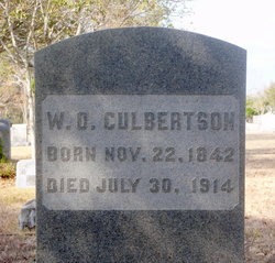 William O Culbertson
