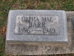 Orpha Mae <i>Swallow</i> Barr