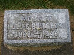 Lulu Catherine <i>Livingston</i> Bridgford