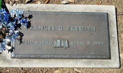 Frances <i>Macomb</i> Gills Breeden