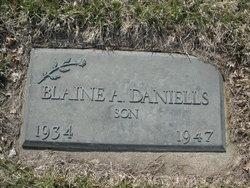 Blaine A Daniells