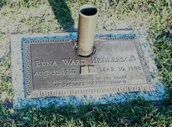 Edna Vernelle <i>Ward</i> Henderson