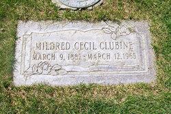 Mildred Cecil <i>Elmore</i> Clubine