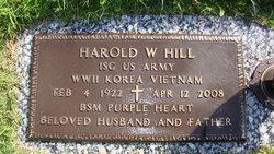 Harold W Hill