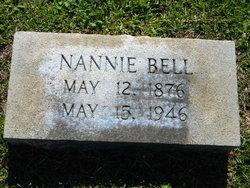 Nannie Mary <i>Bruce</i> Bell