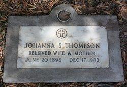 Johanna Sophie <i>Peterson</i> Thompson