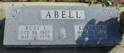 Ruby Isabelle <i>Bybee</i> Abell