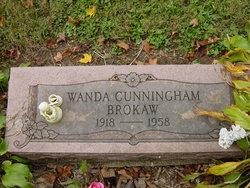 Wanda <i>Brokaw</i> Cunningham