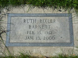Ruth Cassell <i>Bixler</i> Barnett