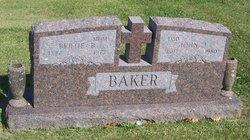 Bertie Bulah <i>Pickett</i> Baker