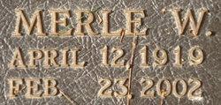 Merle W. Emch