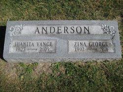 Juanita Vance <i>Brown</i> Anderson