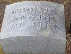 George Washington Cox, Sr