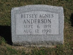 Betsey Agnes Anderson