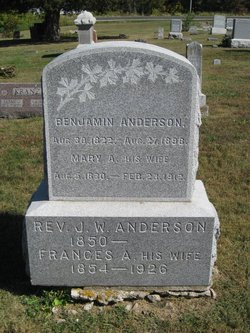 Rev James William Anderson