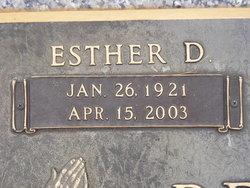 Esther Louise Sunny <i>Davis</i> Brannen