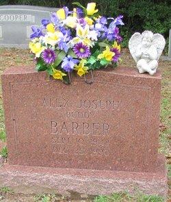 Alex Joseph Buddy Barber