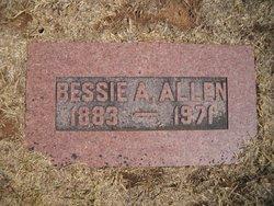 Bessie A Allen