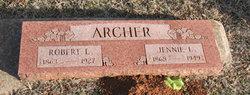 Virginia Lee Jennie <i>Stewart</i> Archer