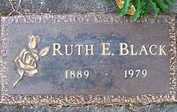 Ruth E Black