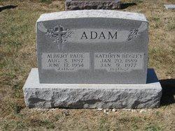 Kathryn <i>Begley</i> Adam